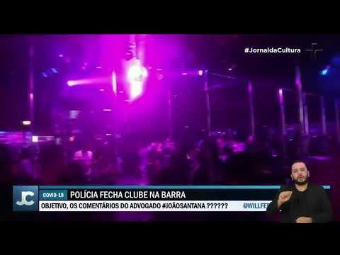 Polícia interdita festa clandestina com mais de 300 pessoas no Rio de Janeiro