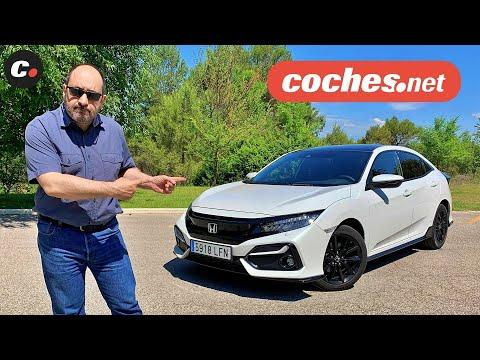 Honda Civic 1.5 Sport Plus 2020 | Prueba / Test / Review en español | coches.net
