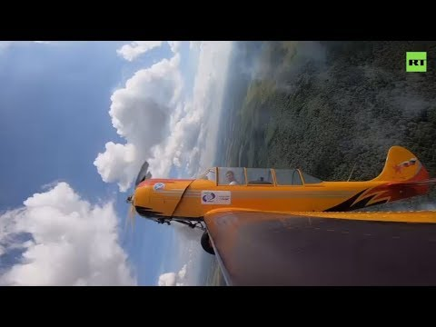 Ace of flight: Aerobatic team gives masterclass ahead of 2019 MAKS air show