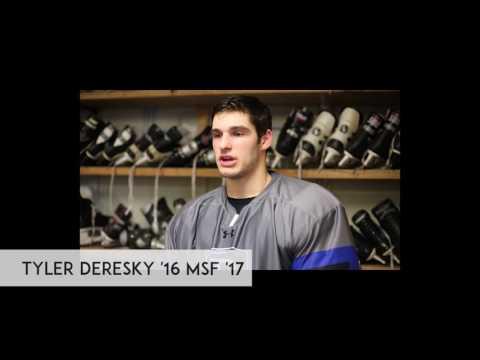 Bentley University Hockey Reflections 2016