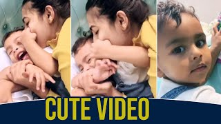 Niharika Konidela Playing With Her Friend Son - Telugu Film News | Latest Tollywood News | TFPC - TFPC