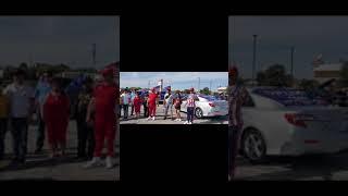 Cubanos en Austin, Texas en apoyo a la Libertad y la Democracia