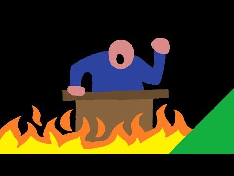 Rhétorique incendiaire : JUSTE de la rhétorique... ?