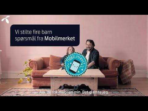 Dette vet barn om mobilbruk: Mobilmerket Trygg Start   Telenor Norge