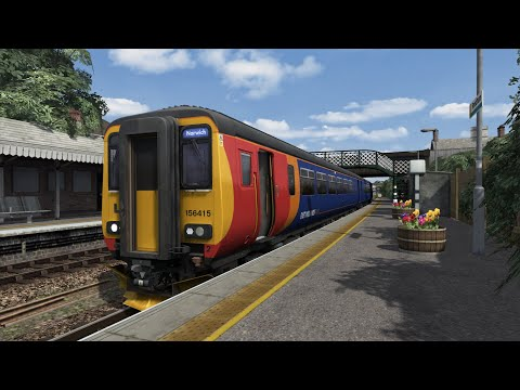 APC156: 2C17 16:18 Great Yarmouth - Norwich -- Livestream 25/08/2019