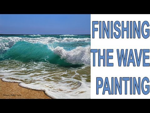 How To Paint A Seascape Part 2 | Oil Painting Tutorial