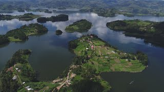 THE DEEPEST LAKE IN UGANDA AND SECOND DIPPEST IN AFRICA LAKE BUNYONYI
