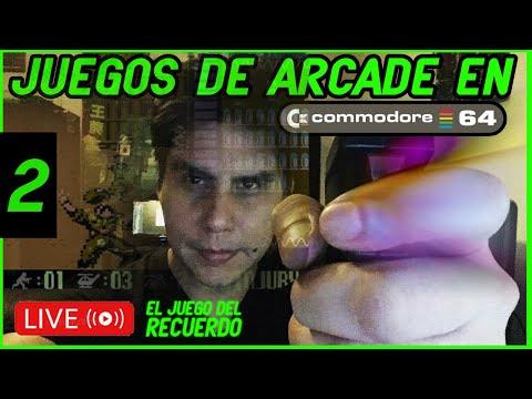 Commodore- JUEGOS DE ARCADE dia 2