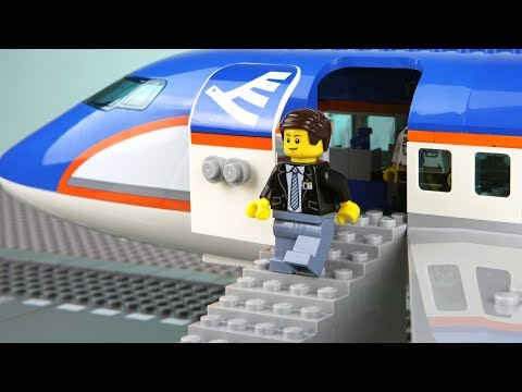 connectYoutube - Lego Plane Robbery - The Airport