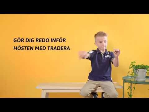 Tradera frågar barnen – Min skolstart (3)