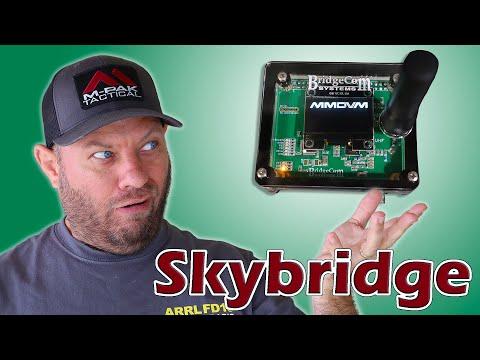 Bridgecom Systems REVEALS the Skybridge Hotspot | EASY Pi-star Setup