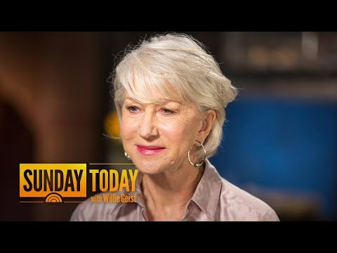 Helen Mirren: There's Nothing Like That Evening I Won An Oscar For 'The Queen' | Sunday TODAY