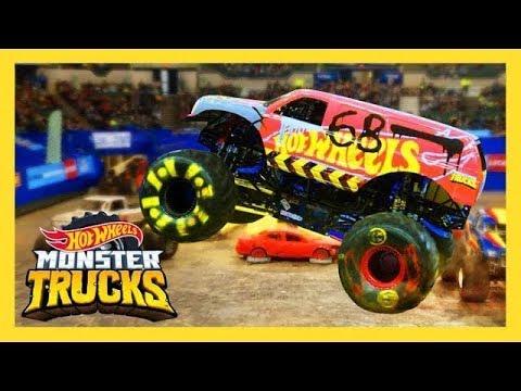 Best of Monster Trucks LIVE   Monster Trucks: LIVE   Hot Wheels