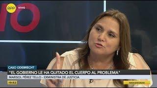 """Marisol Pérez Tello: """"Odebrecht no sabe ganar una licitación limpiamente"""""""