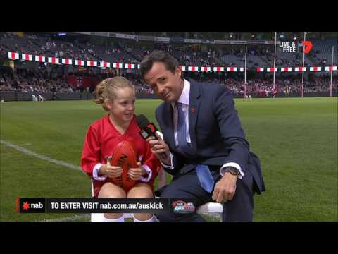 2017 NAB AFL Auskicker of the Year – Rd 7 Nominee