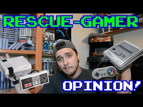 Rescue-Gamer: Por que no tengo una Nes/Snes Mini || Retro-Vlog