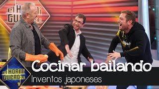 El Monaguillo se atreve a cocinar frente a Karlos Arguiñano con un baile estrella - El Hormiguero