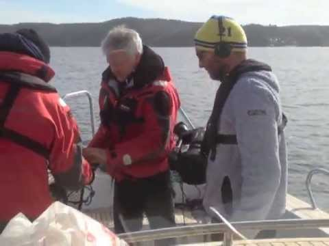 Räkfiske i Gullmarsfjorden