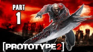 Prototype 2 Walkthrough - Part 1 Opening & the Mercer Virus PS3 XBOX PC  (P2 Gameplay/Commentary)