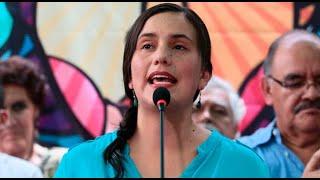 Verónika Mendoza apunta a ser candidata presidencial de Juntos por el Perú