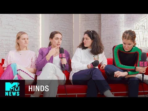 Hinds on Facing Sexism In the Music Industry #TimesUp | MTV News