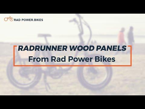 RadRunner Wood Panels by Rad Power Bikes