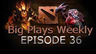 Dota 2 - Big Plays Weekly - Ep. 36