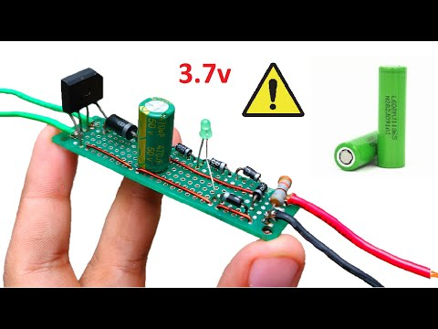 Make a 220v to 3.7v Lithium Ion 18650 Battery Charger without Transistor, Mosfet or IC