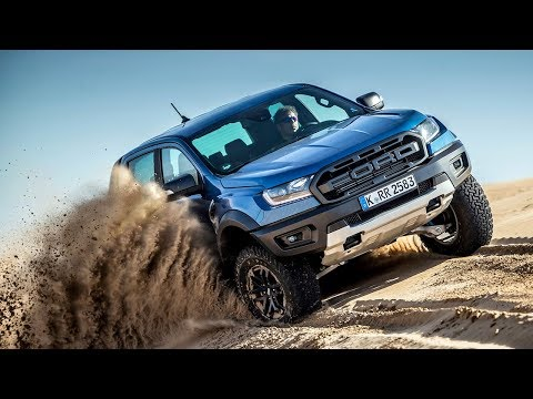 Ford Ranger Raptor - Media Drive, behind the scenes