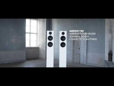 Audio Pro Addon T20 - wireless floorstanding stereo speaker