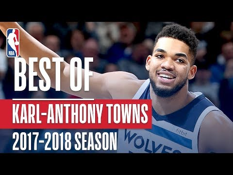 Best of Karl-Anthony Towns | 2017-2018 NBA Season