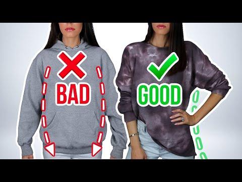 Video: 7 Ways You're Wearing Sweatshirts & Hoodies WRONG! *how to fix*