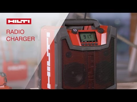 OVERVIEW of Hilti's RC 4/36 120V radio charger