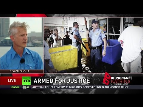 Police neglected residents during, long before Katrina - activist