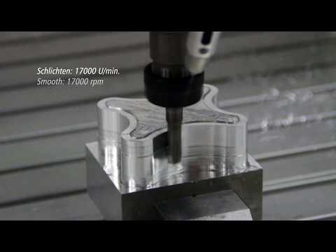 Milling of aluminium with a isel CNC Machine