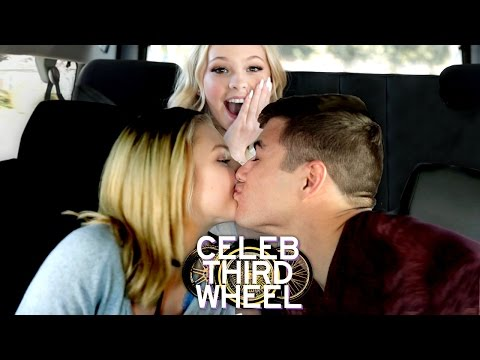 KISS ME CHALLENGE w/ JORDYN JONES   CELEB THIRD WHEEL