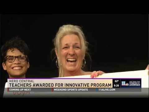 Montlick  Associates' Hero Central - Teachers Awarded For Innovative Program