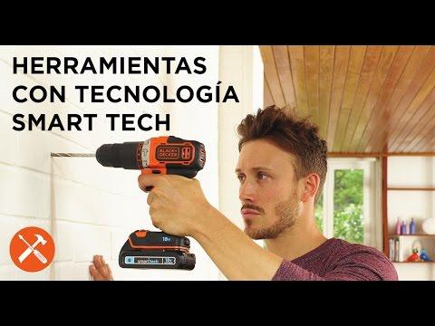 Nueva gama de herramientas con tecnología SMART TECH - BLACK+DECKER™
