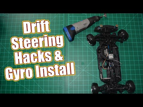 Control Your Slide - Increase Steering & Install A Gyro - Project Altered Apex Drift | RC Driver