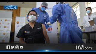 Inició la vacunación contra el coronavirus en Cuenca