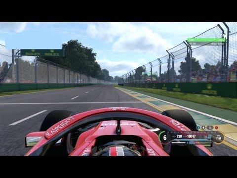 F1 GP Australia 2019 Albert Park (Clasificación y Carrera) || F1 2018 mod PC Español