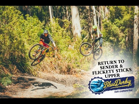 Blue Derby MTB Trails: Return to Sender and Flickety Sticks Upper