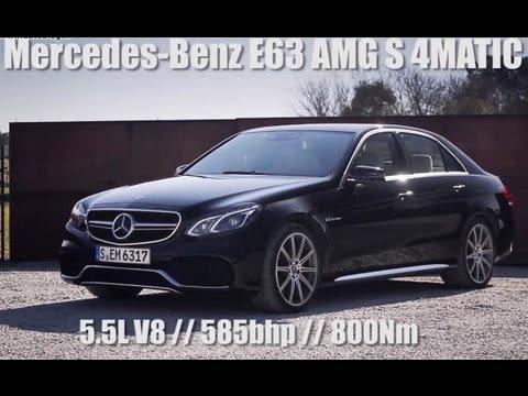 Od 0 do 250 km/h Mercedesem E 63 AMG