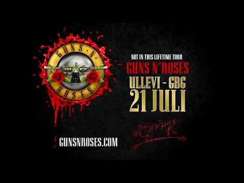 GUNS N' ROSES - 21 JULI 2018 - ULLEVI, GÖTEBORG
