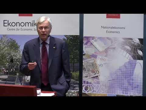Nobel Laureate in economics Bengt Holmström – Nobel Lectures in Uppsala 2016