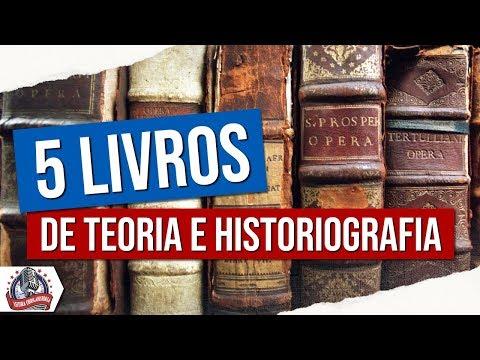 5 LIVROS de TEORIA e HISTORIOGRAFIA