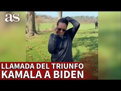 ELECCIONES EEUU   La llamada del triunfo de KAMALA a BIDEN, imposible en el partido republicano   AS