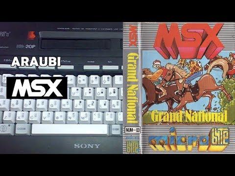 Champions Grand National (Pony Canyon, 1984) MSX [524] Walkthrough Comentado