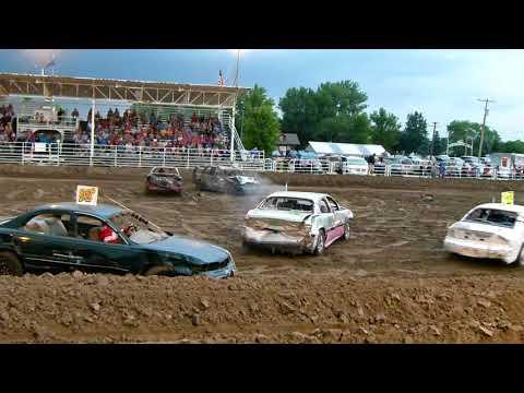 Bassett Demolition Derby 2018  Powder Puff