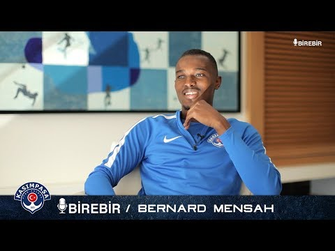 VIDEO: On-loan Kasimpasa midfielder Bernard Mensah idolises Real Madrid legend Zidane and Pogba